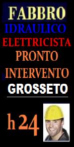 www.superfabbro.com/grosseto  SOS PRONTO INTERVENTO A GROSSETO - FABBRO  APERTURA PORTE - IDRAULICO ELETTRICISTA URGENTE - RICERCA PERDITE OCCULTE - CALDAIE - CONDIZIONATORI