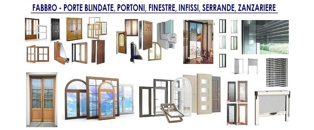 Fabbro serramenti porte blindate tapparelle - Finestre con veneziane incorporate ...