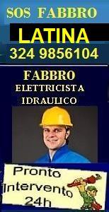 www.superfabbro.com/latina  PRONTO INTERVENTO 24H a LATINA - MURATORE - IMBIANCHINO - FABBRO APERTURA PORTE - IDRAULICO SPURGHI - ELETTRICISTA - SPAZZACAMINO NEL LAZIO A LATINA, GAETA, Aprilia, Terracina ecc.