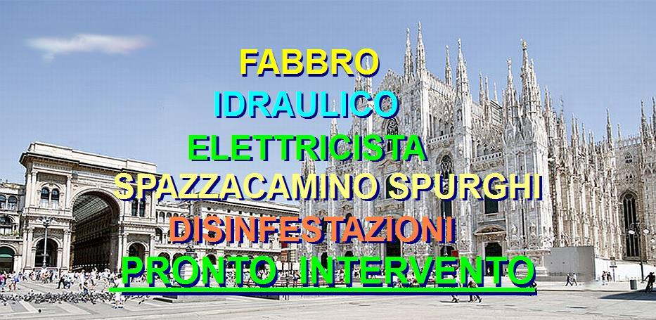 SOS SUPERFABBRO A MILANO