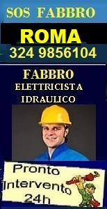 www.superfabbro.com/roma  PRONTO INTERVENTO 24H a ROMA - MURATORE - IMBIANCHINO - FABBRO APERTURA PORTE - IDRAULICO SPURGHI - ELETTRICISTA - SPAZZACAMINO NEL LAZIO A ROMA E PROVINCIA.