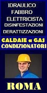 Idraulico urgente roma